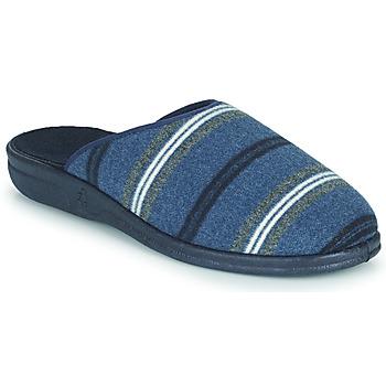 Zapatos Hombre Pantuflas Casual Attitude PAULIO Azul