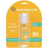 Belleza Protección solar Australian Gold Face Guard Spf50 Sunscreen Stick 14 Gr
