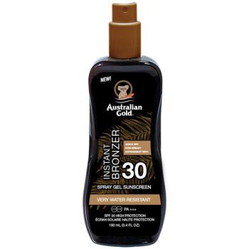 Belleza Protección solar Australian Gold Sunscreen Spf30 Spray Gel With Instant Bronzer