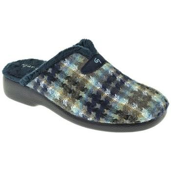Zapatos Mujer Pantuflas Garzon ZAPATILLAS SRA   MARINO Azul