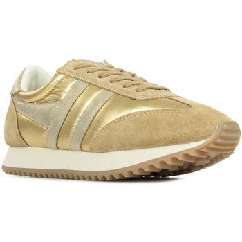 Zapatos Mujer Zapatillas bajas Gola Boston 78 Metallic Oro