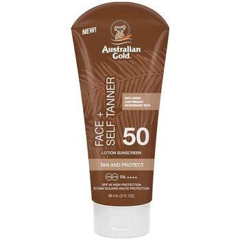 Belleza Protección solar Australian Gold Face Self Tanner Spf50 Sunscreen