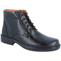 Zapatos Hombre Botas de caña baja Luisetti ZAPATO Bota Confort Step 0150 Negro Negro
