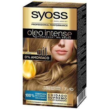 Belleza Mujer Coloración Syoss Olio Intense Tinte Sin Amoniaco 7.10-rubio Natural