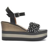 Zapatos Mujer Sandalias Alpe KENYA Negro