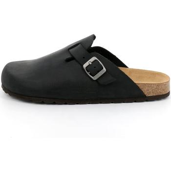 Zapatos Hombre Zuecos (Clogs) Grunland - Sabot nero CB7034 MARRONE