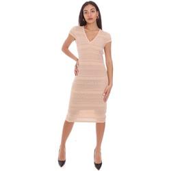 textil Mujer Vestidos cortos Gaudi 111BD13004 Rosado