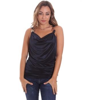 textil Mujer Camisetas sin mangas Gaudi 111FD44001 Azul