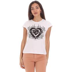 textil Mujer Camisetas manga corta Gaudi 111FD64017 Blanco