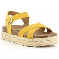 Zapatos Niña Sandalias Obi Shoes PALA CRUZADA jaune