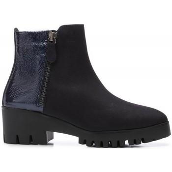 Zapatos Mujer Botines 24 Hrs 24 Hrs 24264 Azul Marino Azul