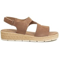 Zapatos Mujer Sandalias Gennia DANA Sandalias Comodas Piel Serraje Cámel Taupe Otros
