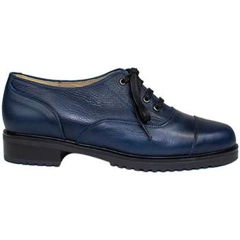 Zapatos Mujer Derbie Gennia Oxford Blucher Azules Mujer Casual Piel Planos Cordones - JANET Otros