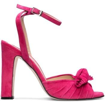 Zapatos Mujer Sandalias Gennia NEUS Piel Ante Rosa Rosa