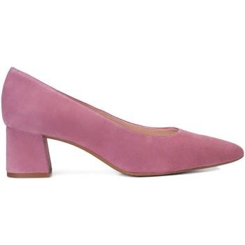 Zapatos Mujer Zapatos de tacón Gennia Salones Mujer Piel Violeta Malva Tacon Bajo Punta Fina - TRIVIA Morado