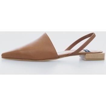 Zapatos Mujer Bailarinas-manoletinas Angel Alarcon 21158 Marrón