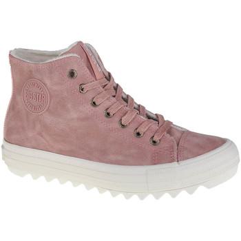 Zapatos Mujer Zapatillas altas Big Star Shoes Big Top Rose