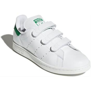 Zapatos Hombre Zapatillas bajas adidas Originals Stan Smith CF White S75187 Blanco