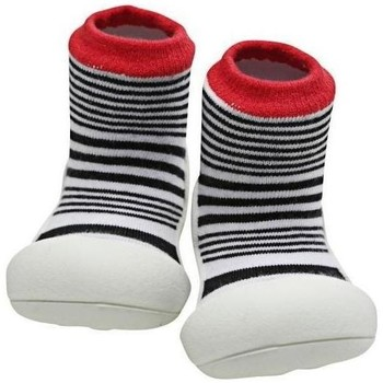 Zapatos Niños Pantuflas para bebé Attipas Urban Red Negro