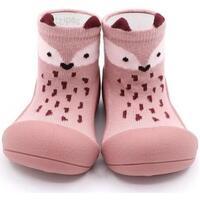Zapatos Niña Pantuflas para bebé Attipas Endangered Animal Fox Rosa