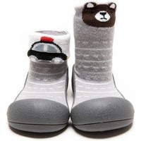 Zapatos Niños Pantuflas para bebé Attipas Two Style Gray Gris
