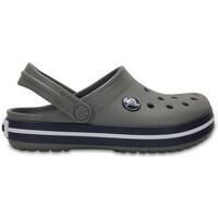 Zapatos Niños Zuecos (Clogs) Crocs Crocband Kids Smoke Navy Gris