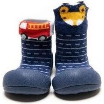 Zapatos Niño Pantuflas para bebé Attipas Two Style Navy Azul