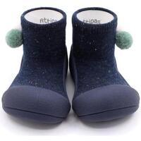 Zapatos Niño Pantuflas para bebé Attipas Shooting Star Navy Azul