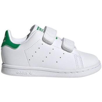Zapatos Niños Zapatillas bajas adidas Originals Stan Smith CF I FX7532 CO Blanco