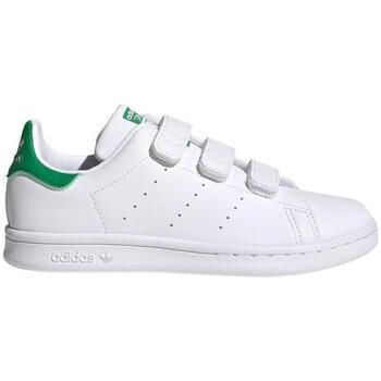 Zapatos Niños Zapatillas bajas adidas Originals Sapatilhas Stan Smith CF C FX7534 Blanco