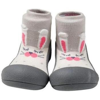 Zapatos Niños Pantuflas para bebé Attipas Pet Gray Gris