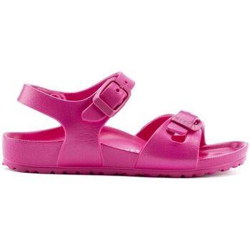 Zapatos Niña Sandalias Birkenstock Kids Rio EVA 1015463 Beetroot Purple Rosa