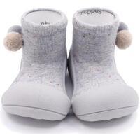 Zapatos Niños Pantuflas para bebé Attipas Shooting Star Grey Gris