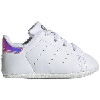 Zapatos Niños Zapatillas bajas adidas Originals Stan Smith Crib FY7892 CO Blanco