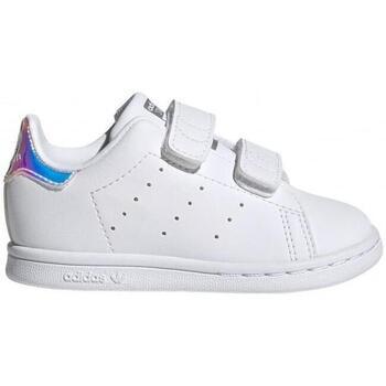 Zapatos Niños Zapatillas bajas adidas Originals Stan Smith CF I FX7537 CO Blanco
