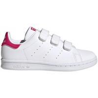 Zapatos Niña Zapatillas bajas adidas Originals Sneakers Stan Smith CF C FX7540 CO Rosa