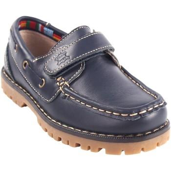 Zapatos Niño Zapatos náuticos Bubble Bobble Zapato niño  a766 azul Azul