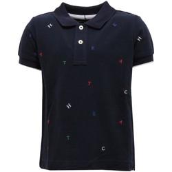textil Niño Camisetas manga corta Hackett HK5609105cv Azul