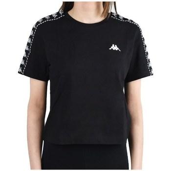 textil Mujer Camisetas manga corta Kappa Inula Tshirt Negros