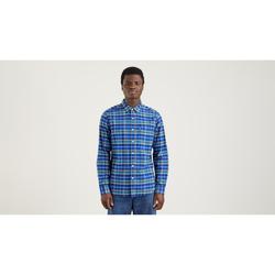 textil Hombre Camisas manga larga Levi's Strauss CAMISA SUNSET 1 POCKET STANDARD LEVIS HOMBRE Multicolor