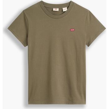 textil Mujer Camisetas manga corta Levi's Strauss CAMISETA PERFECT LEVIS MUJER