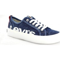 Zapatos Mujer Zapatillas bajas Levi's Strauss ZAPATILLA LEVIS BETTY MEGA Azul