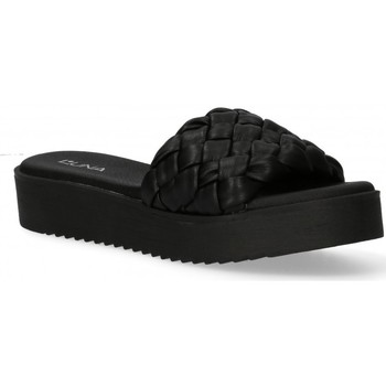 Zapatos Mujer Zuecos (Mules) Luna Collection 58398 negro