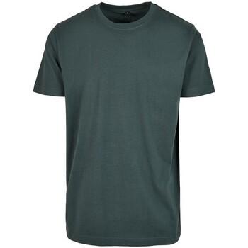 textil Hombre Camisetas manga corta Build Your Brand BY004 Verde