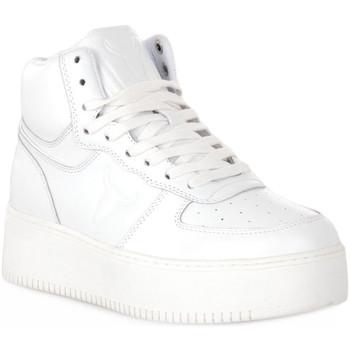 Zapatos Mujer Zapatillas altas Windsor Smith WHITE THRIVE Bianco