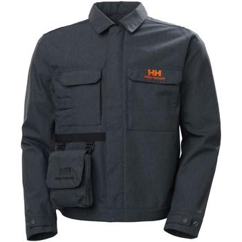 textil Hombre Abrigos Helly Hansen heritage carpenter jacket navy denim