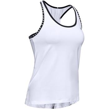 textil Mujer Camisetas sin mangas Under Armour UA022 Negro