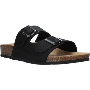 Zapatos Hombre Zuecos (Mules) Bionatura 11THESU-I-CRHNER Negro