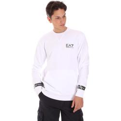 textil Hombre Sudaderas Ea7 Emporio Armani 3KPM22 PJ05Z Blanco
