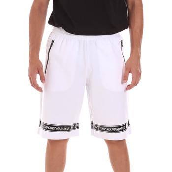 textil Hombre Shorts / Bermudas Ea7 Emporio Armani 3KPS56 PJ05Z Blanco